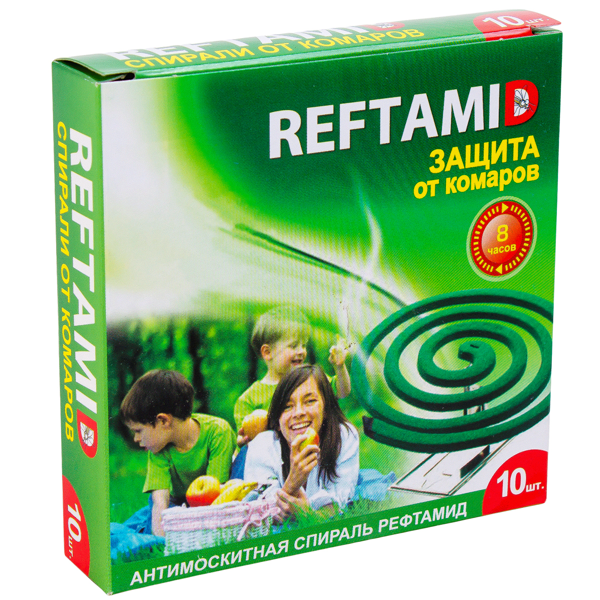 Спирали РЕФТАМИД Защита от комаров